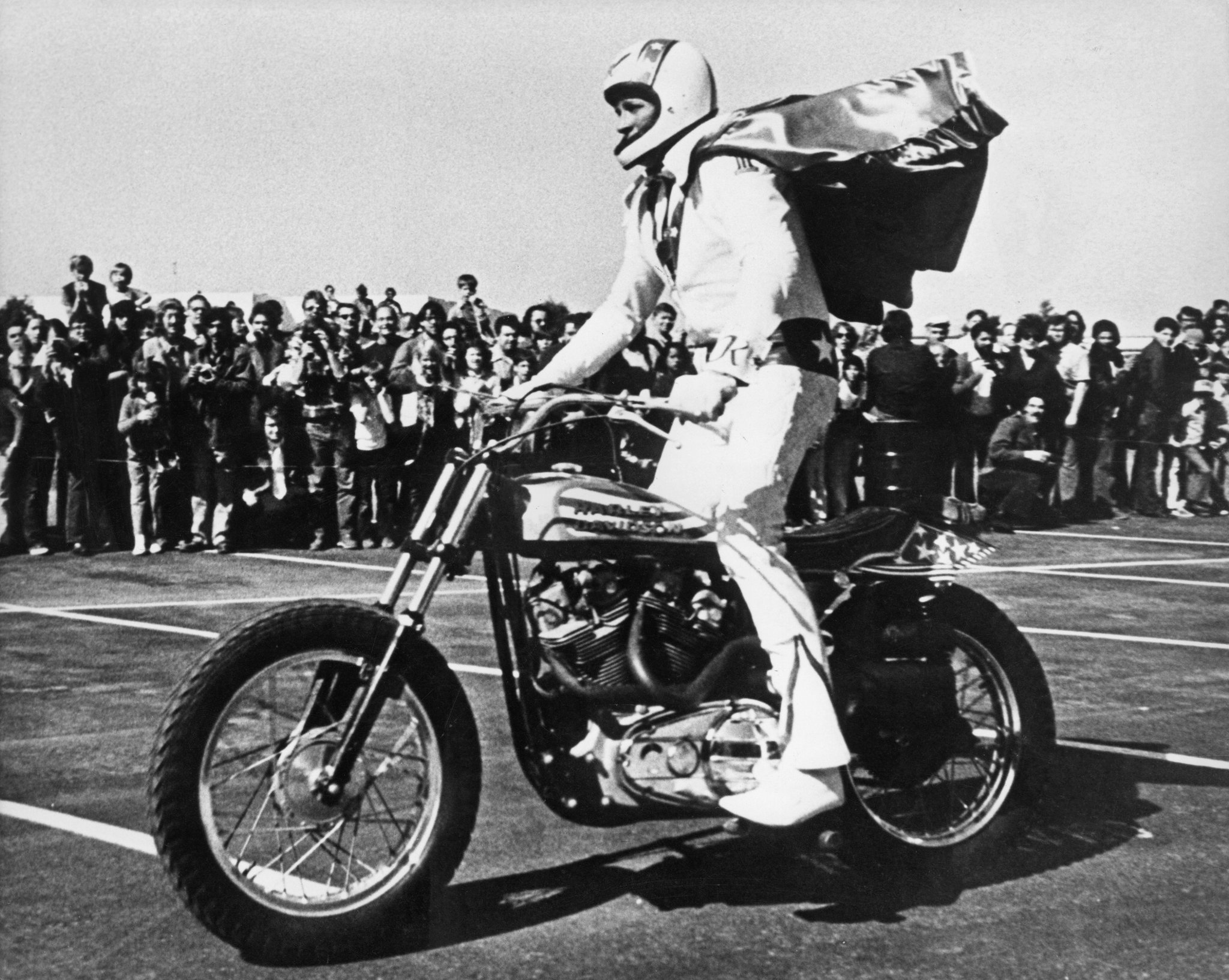 Evel Knievel Does It Again! But This Time Through His Truck