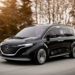 Mercedes-Benz Shows Off EQT Minivan With All The Right Stuff